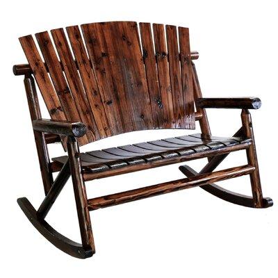 Char-Log Double Rocking Chair