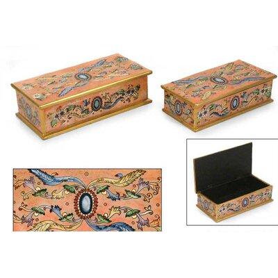 Novica 'Sapphire' Boxes