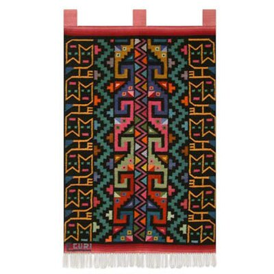 Novica Kitty Cat Twins by Efrain Curi Tapestry