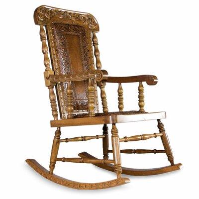 Mclane Royal Rocking Wood Chair
