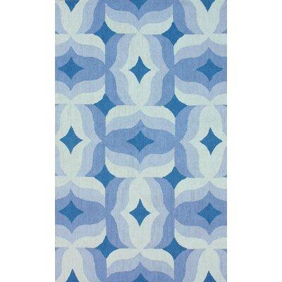 nuLOOM Trellis Blue Multi Lydia Rug