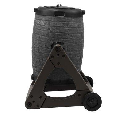 7 cu. ft. Tumbler Composter Color: Dark Granite