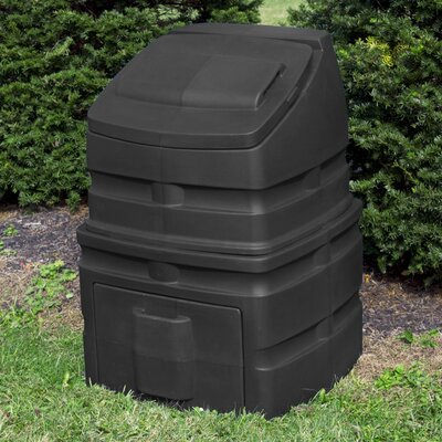 Compost Wizard 52.38 Gal. Stationary Composter Color: Black