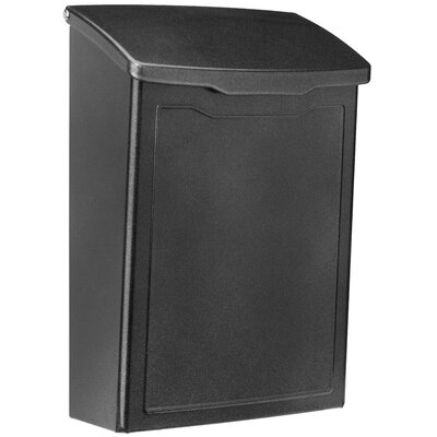 Marina 7 in x 10 in Steel Wall Mounted Mailbox Mailbox Color: Pewter