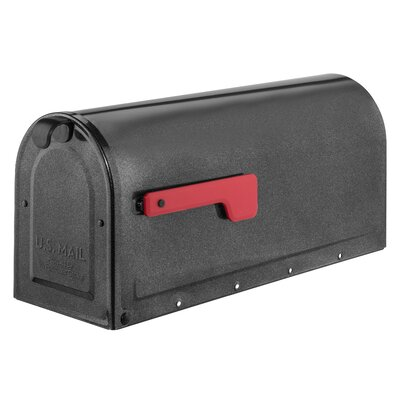 MB1 Post Mounted Mailbox Mailbox Color: Pewter