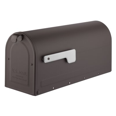 MB1 Post Mounted Mailbox Mailbox Color: Rubbed Bronze