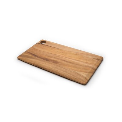 Gourmet Wood Rectangular Everyday Cutting Board