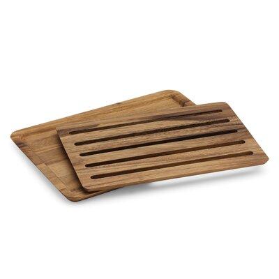 2 Piece Wood Nesting Bread Board