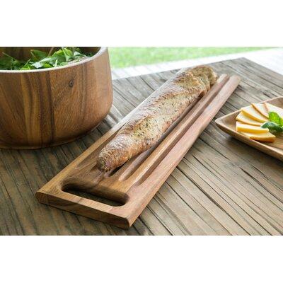 Wood Sweep off Baguette Board