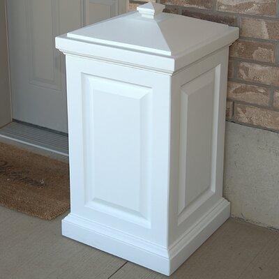 Berkshire 45 Gallon Plastic Deck Box Color: White