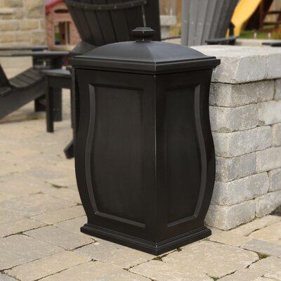 Mansfield 22 Gallon Plastic Deck Box Color: Black