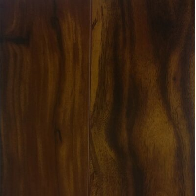 "Rodolfo 5"" x 47.75"" x 12mm Acacia Laminate Flooring in Darkened"