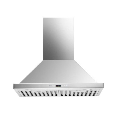 "30"" 860 CFM Convertible Wall Mount Range Hood"
