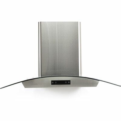"30"" 600 CFM Ducted Wall Mount Range Hood"