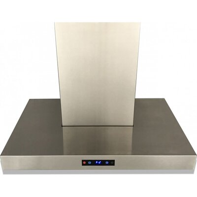 "36"" 600 CFM Ducted Wall Mount Range Hood"