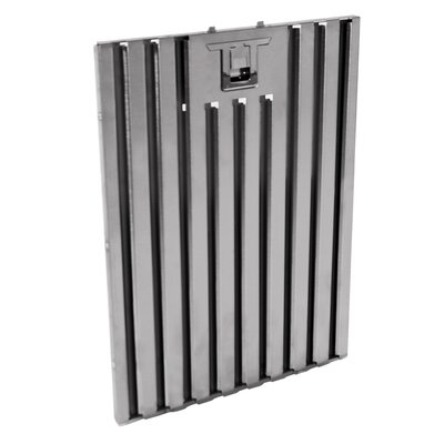 "Baffle Range Hood Filter Size: 15.1"" H x 9.1 W x 0.5"" D"