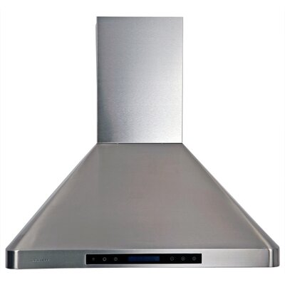 "30"" 900 CFM Ducted Wall Mount Range Hood"