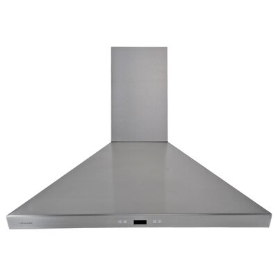 "36"" 900 CFM Ducted Wall Mount Range Hood"