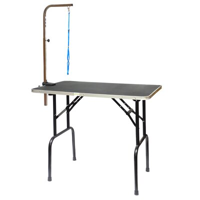 Go Pet Club Dog Grooming Table with Arm