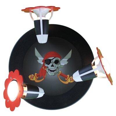 Elobra Wandstrahler 3-flammig Piratenwelt