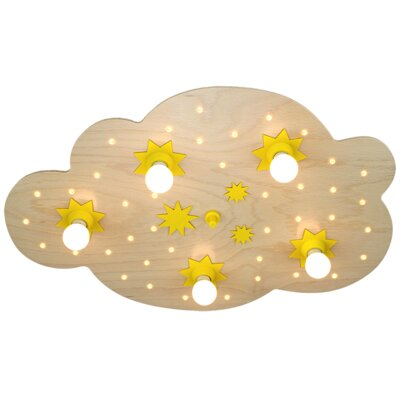 Elobra Deckenleuchte 5-flammig Sternenwolke