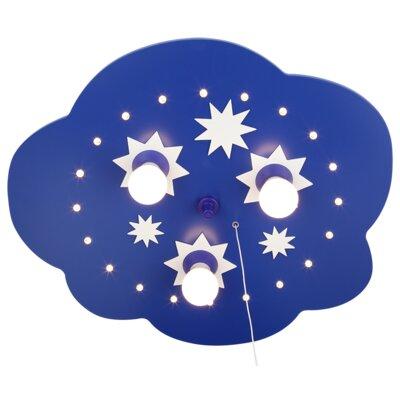 Elobra Deckenleuchte 3-flammig Sternenwolke