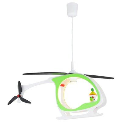 Elobra Design-Pendelleuchte 1-flammig Hubschrauber