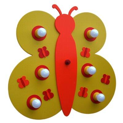 Elobra Deckenleuchte 9-flammig Schmetterling