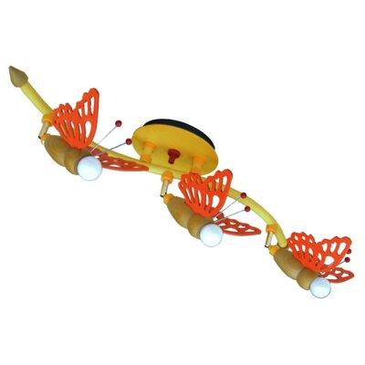 Elobra Volles Schienenbeleuchtungsset 3-flammig Schmetterling