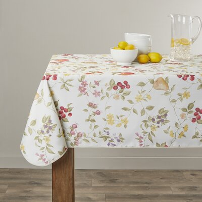 Violet Linen European Fruit Tablecloth