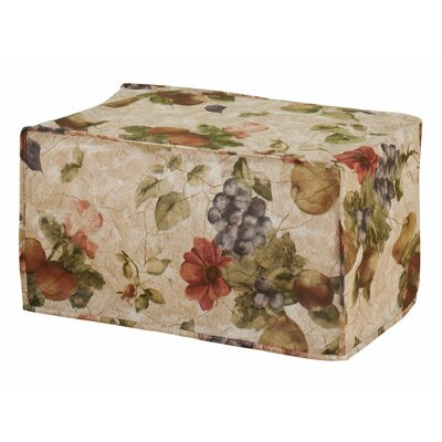 Antique Fruit Vinyl Toaster Oven Cover
