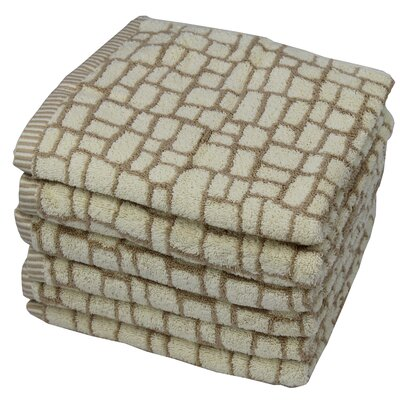 Penelope Majestic 100% Cotton Hand Towel Color: Beige