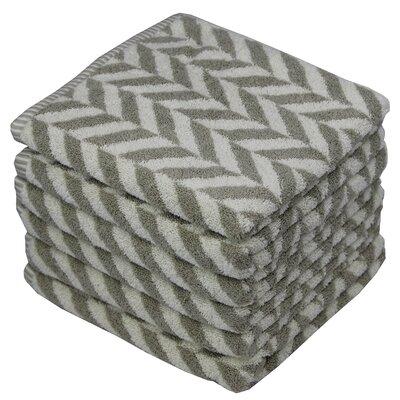 Eller Majestic 100% Cotton Hand Towel Color: Gray
