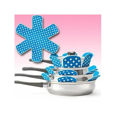 6 Piece Padded Pot and Pan Scratch Protector Set