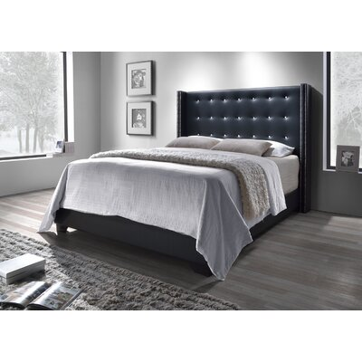 Arno Upholstered Panel Bed