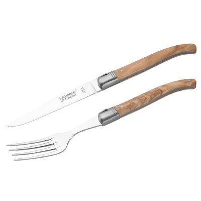 Laguiole Tradition Steakmesser mit Gabel