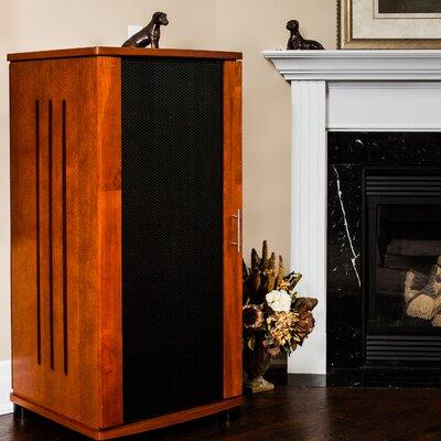 "LSX Series 52"" Audio Cabinet Color: Walnut"