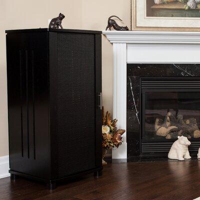 """LSX Series 52"""" Audio Cabinet Color: Black Oak"""