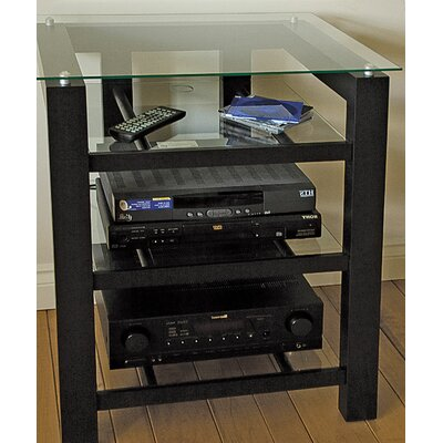 SL Series Audio / Video Rack Glass Color: Clear