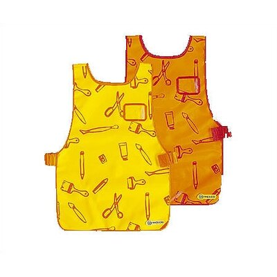 Children's Small Apron / Coverall Type: Coverall, Color: Yellow