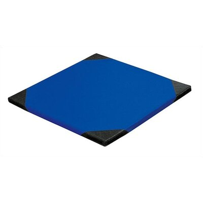 """1.5"""" Thick Tumbling Mat Color: Red, Size: Medium Foldable 80"""" x 40"""""""