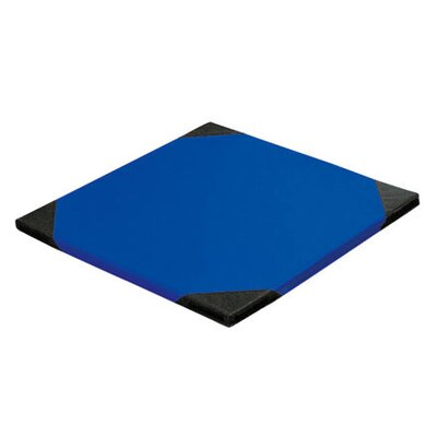 """1.5"""" Thick Tumbling Mat Color: Blue, Size: Small 40"""" x 40"""""""