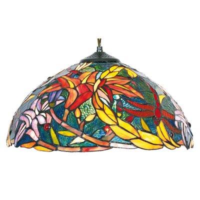 Artistar Schalen-Pendelleuchte 1-flammig Tiffany