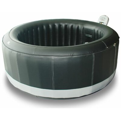 Camaro 6-Person 138-Jet Inflatable Plug and Play Spa with Bubbles