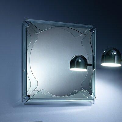 FIAM ITALIA Gallery Circle Glass Frame Mirror