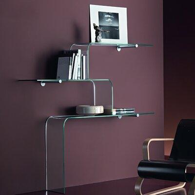 FIAM ITALIA Mensole 3 Piece Bracket Accent Shelf Set