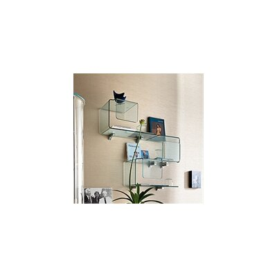 FIAM ITALIA Palladio Wall Glass Display Cabinet