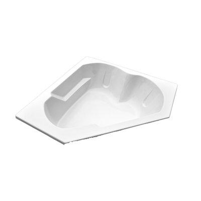 """American Acrylic 60"""" x 60"""" Arm-Rest Corner Soaking Tub"""