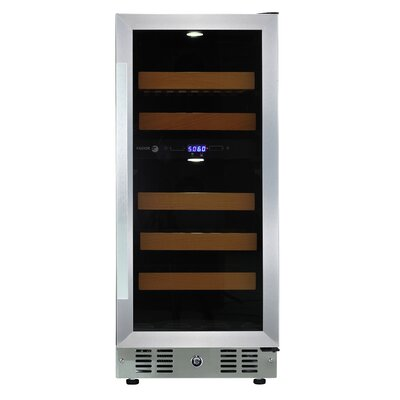 28 Bottle Dual Zone Convertible Wine Cooler