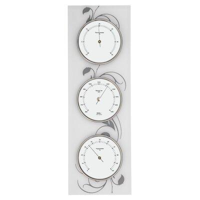 """Fischer Barometer 36cm x 12cm Wohnraum-Wetterstation """"Skala"""""""